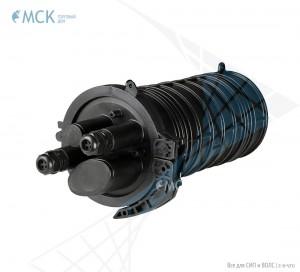 Муфта-кросс МКО-К6/CМ3 2SC/APC 2ФТ4х3 (адаптеры, 2 фитинга 4х3,0 мм) сплиттерная