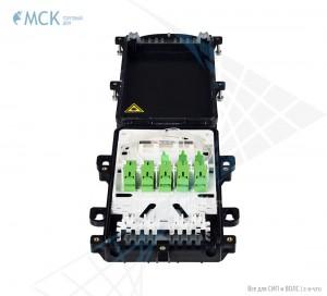 Муфта-кросс МКО-П1/С09 1PLC4 10SC/APC сплиттерная в полной комплектации