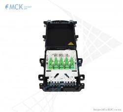 Муфта-кросс МКО-П1/С09 2PLC4 10SC/APC сплиттерная полной комплектации