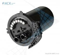 Муфта-кросс МКО-С7/CМ3 2SC/APC (2 фитинга 16 мм) сплиттерная