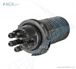 Муфта-кросс МКО-В3/CМ3 4SC/APC 4ФТ4х3 сплиттерная (адаптеры, фитинги)