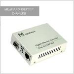 MT-8110G-AS-SFP: медиаконвертер Fast/Gigabit Ethernet с SFP-слотом