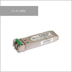 MT-P-5524-L8x(D), 1,25 Гбит/сек, SFP-модуль, дальность 80 км