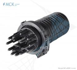 Тупиковая муфта МКО-Г3/A 8SC (до 144 ОВ и 8SC) | Муфты для оптического кабеля. Поставщик - ООО «Торговый Дом «МСК»