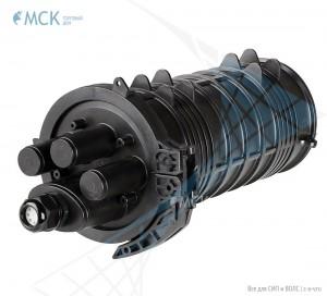 Тупиковая муфта МКО-К6/А 8FC (до 48 ОВ и 8FC) | Муфты для оптического кабеля. Поставщик - ООО «Торговый Дом «МСК»