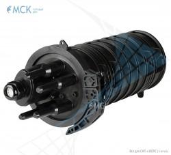 Тупиковая муфта МКО-Л6/А 8FC (до 48 ОВ и 8FC) | Муфты для оптического кабеля. Поставщик - ООО «Торговый Дом «МСК»