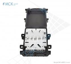 Тупиковая муфта МКО-П1/A 10SC (до 36 ОВ и 10SC) | Муфты для оптического кабеля. Поставщик - ООО «Торговый Дом «МСК»