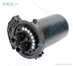 Тупиковая муфта МКО-С7/48 (до 48 ОВ) | Муфты для оптического кабеля. Поставщик - ООО «Торговый Дом «МСК»