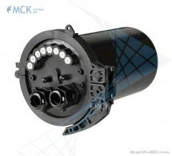 Тупиковая муфта МКО-С7/А 8SC (до 16 ОВ и 8SC) | Муфты для оптического кабеля. Поставщик - ООО «Торговый Дом «МСК»
