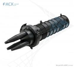 Тупиковая муфта МОГ-Т-3-40  (ОК до 22 мм) | Муфты для оптического кабеля. Поставщик - ООО «Торговый Дом «МСК»