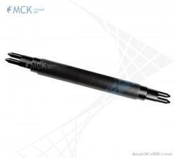 Проходная транзитная муфта МОГ-У-22 транзит | Муфты для оптического кабеля. Поставщик - ООО «Торговый Дом «МСК»