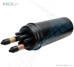 Тупиковая классическая муфта МТОК-А1/216 (2 ввода №7) | Муфты для оптического кабеля. Поставщик - ООО «Торговый Дом «МСК»