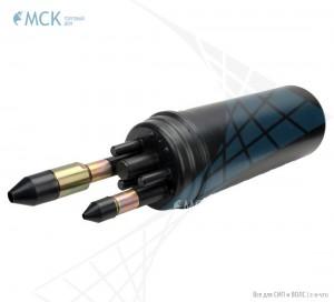 Тупиковая классическая муфта МТОК-А1/216 (вводы №7 и №8) | Муфты для оптического кабеля. Поставщик - ООО «Торговый Дом «МСК»
