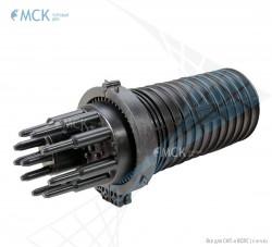 Тупиковая муфта МТОК-Г3/288 без транзита (8 кассет) | Муфты для оптического кабеля. Поставщик - ООО «Торговый Дом «МСК»