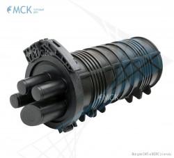 Тупиковая муфта МТОК-К6/108 транзит | Муфты для оптического кабеля. Поставщик - ООО «Торговый Дом «МСК»
