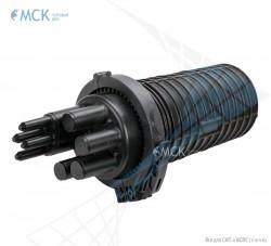 Тупиковая муфта МТОК-В3/288 без транзита (8 кассет) | Муфты для оптического кабеля. Поставщик - ООО «Торговый Дом «МСК»