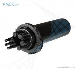 Тупиковая удлиненная муфта МТОК-В4/480 без транзита (10 кассет) | Муфты для оптического кабеля. Поставщик - ООО «Торговый Дом «МСК»