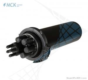 Тупиковая удлиненная муфта МТОК-В4/480 без транзита | Муфты для оптического кабеля. Поставщик - ООО «Торговый Дом «МСК»