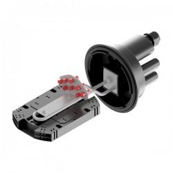 Муфта-кросс МВОТ-К-64-4-Т-2-64-FC-8 VolSip оптическая