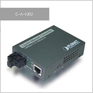 Неуправляемые Gigabit Ethernet медиаконвертеры