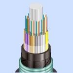 Оптический кабель ОБгПн с броней из гофрированной стальной ленты не горючий (ОбгПн-с)