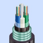 Оптический кабель ОБгПо с бронёй из гофрированной стальной ленты  (ОбгПо-с)