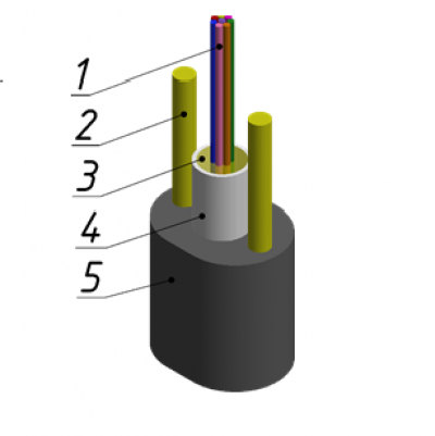 Кабель оптический ОЦПс-П-12А1(1х12)-1,0