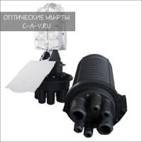 Оптическая муфта OptiCin FOSC 240-R6-2x24|4|2