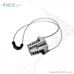Анкерный зажим РА-07-520F для СИП и оптического кабеля. Узлы и элементы крепления «Торгового Дома «МСК»