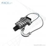 Анкерный натяжной зажим PA-08DROP для подвески плоского оптического кабеля | «Торговый Дом «МСК»