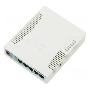 Радиомаршрутизатор MikroTik RB951G-2HnD