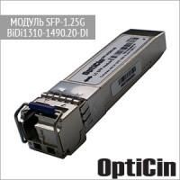 Модуль SFP-1.25G-BiDi1310-1490.20-DI