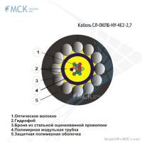 Оптический кабель СЛ-ОКПБ-НУ-4Е2-2,7
