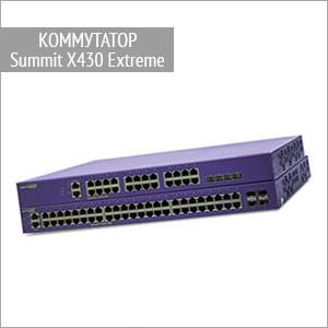 Коммутаторы Summit X430 Extreme