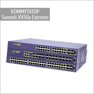 Коммутаторы Summit X450a Extreme