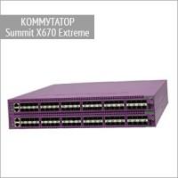 Коммутаторы Summit X670 Extreme