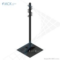 Вертикальная трубостойка ТС 1500 | Линейная арматура для ВОЛС от ООО «Торговый Дом «МСК»