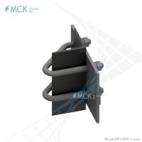 Узел крепления УН(2)-110 натяжной | Узлы и элементы крепления кабеля. ООО «Торговый Дом «МСК»