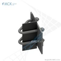 Узел крепления УН(2)-140 натяжной | Узлы и элементы крепления кабеля. ООО «Торговый Дом «МСК»