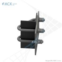 Узел крепления УН(2)-180 натяжной | Узлы и элементы крепления кабеля. ООО «Торговый Дом «МСК»