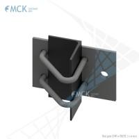 Узел крепления УН(2)-80 натяжной | Узлы и элементы крепления кабеля. ООО «Торговый Дом «МСК»