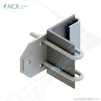 Узел крепления УН(У)-125 натяжной | Узлы и элементы крепления кабеля (ОК, СИП)