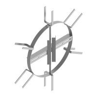 Устройство для подвески муфты и запаса кабеля УПМК-07