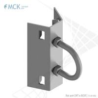 Натяжной узел крепления УК-Н-01 (10) | Узлы и элементы крепления кабеля. Торговый Дом МСК