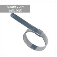 Зажим для шлангов V209 Bandimex 64 мм