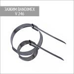 Зажим для шлангов V246 Bandimex 76 мм