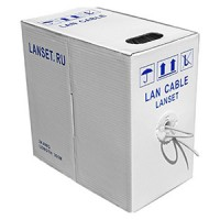 LAN CABLE LANSET UTP2 24AWG (упаковка 305м)