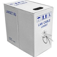 LAN CABLE LANSET UTP4 24AWG (упаковка 305м)
