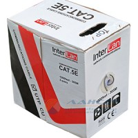 UTP2 InterLan CAT-5e 24AWG, indoor кор 305 м